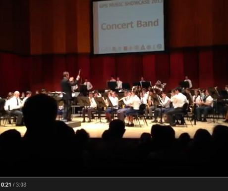 2013 GPS Concert Band at the Queensland Conservatorium — Jessie's Well